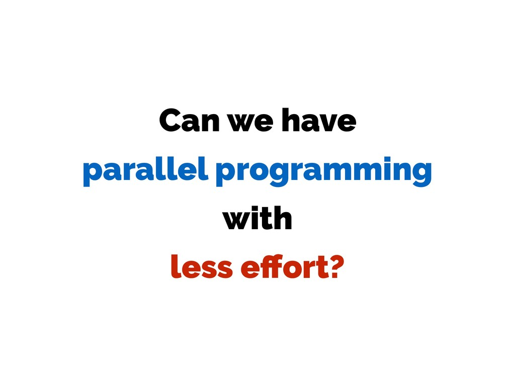 Can we have