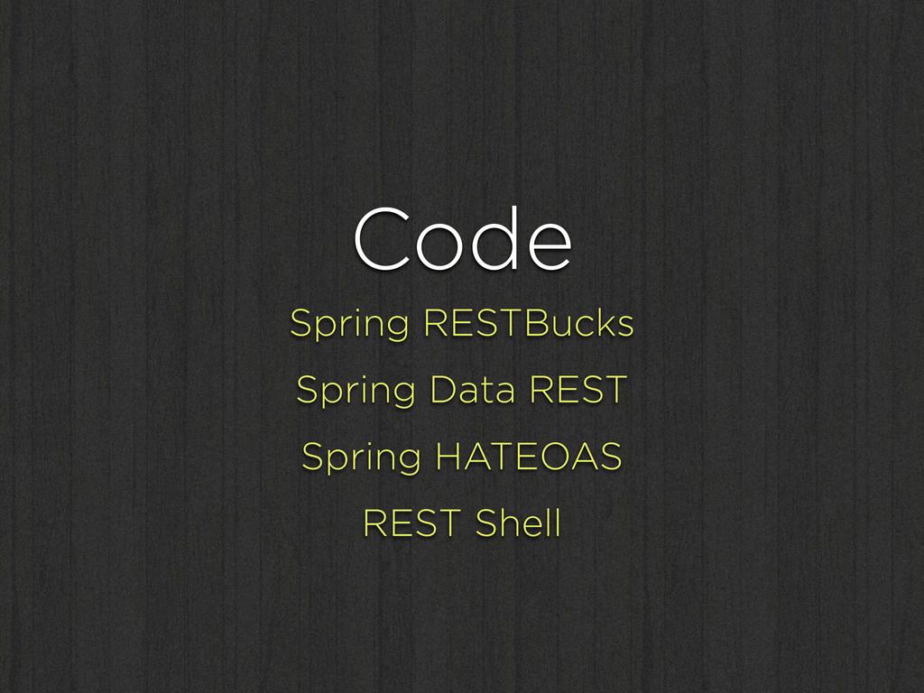 Code Spring RESTBucks Spring Data REST Spring H...