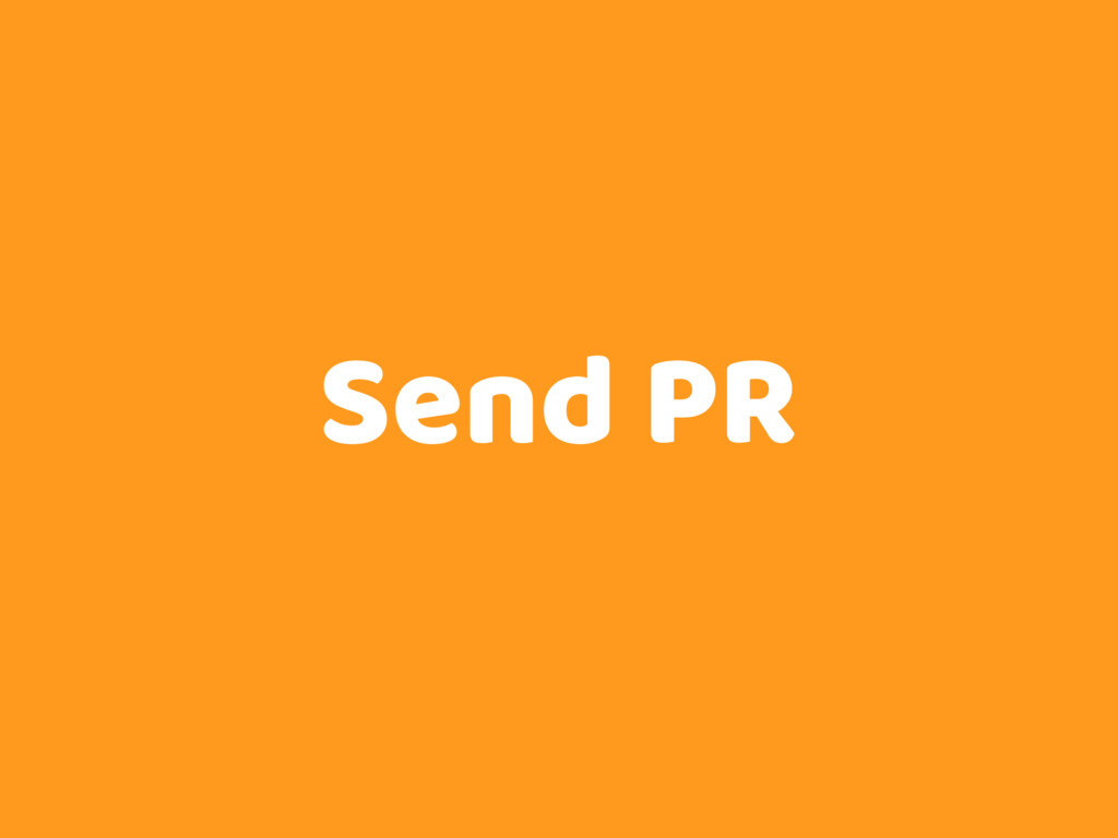 Send PR
