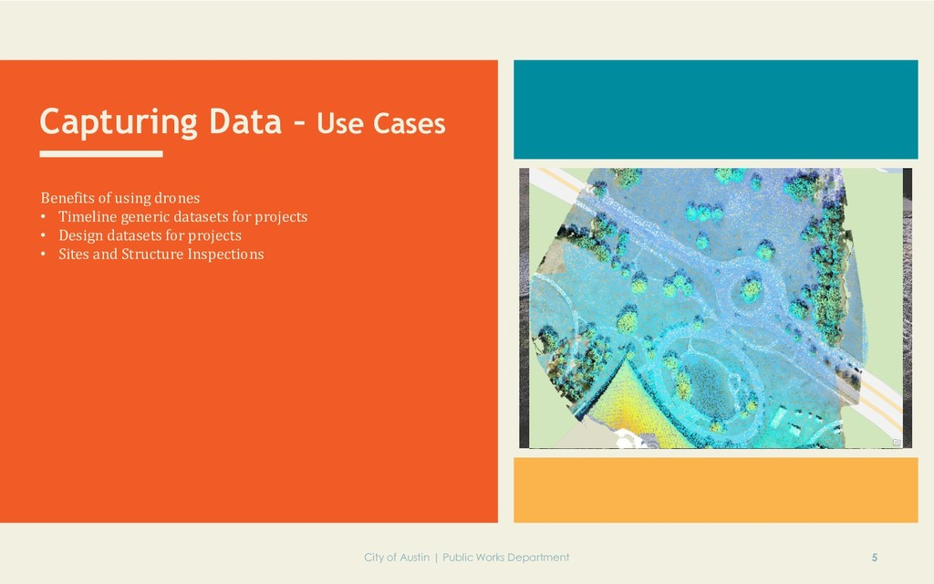 Capturing Data – Use Cases Benefits of using dr...
