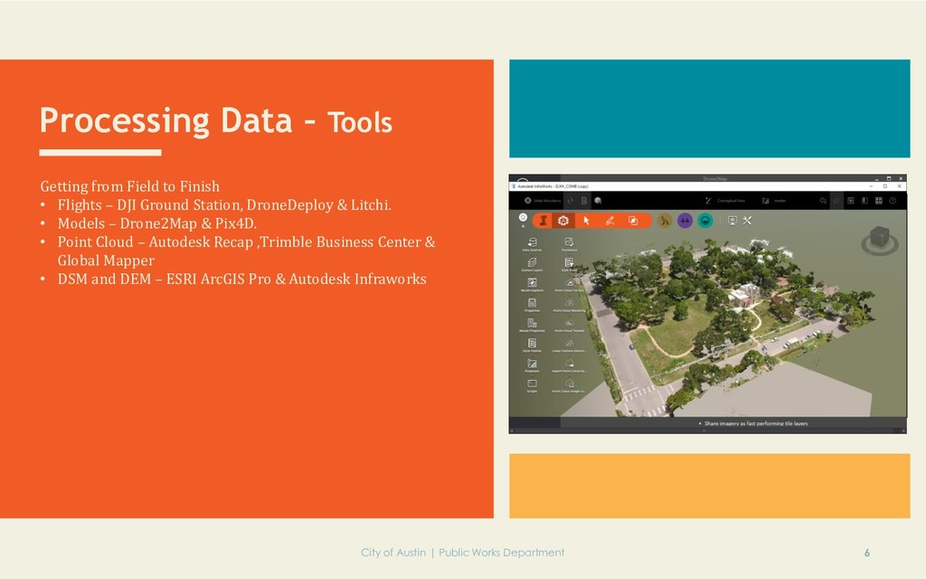 Processing Data – Tools Getting from Field to F...