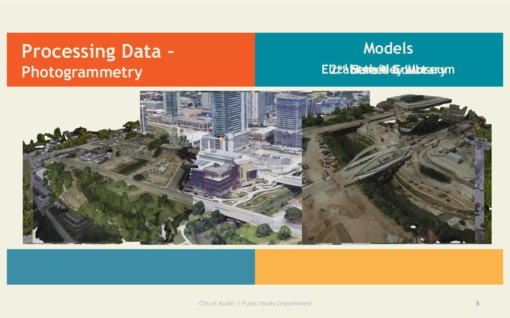 Processing Data – Photogrammetry 8 City of Aust...