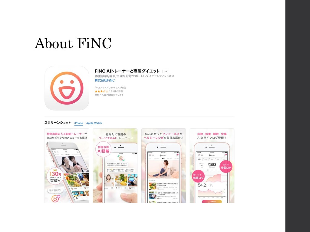 About FiNC