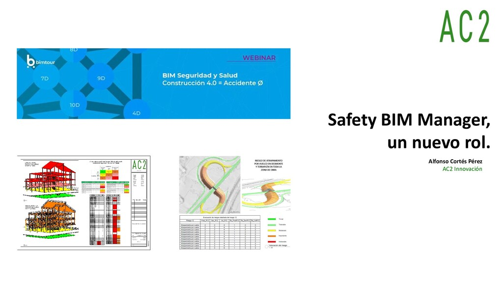 Safety BIM Manager, un nuevo rol. Alfonso Corté...