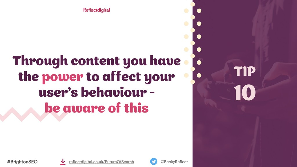 Through content you have the power to affect yo...