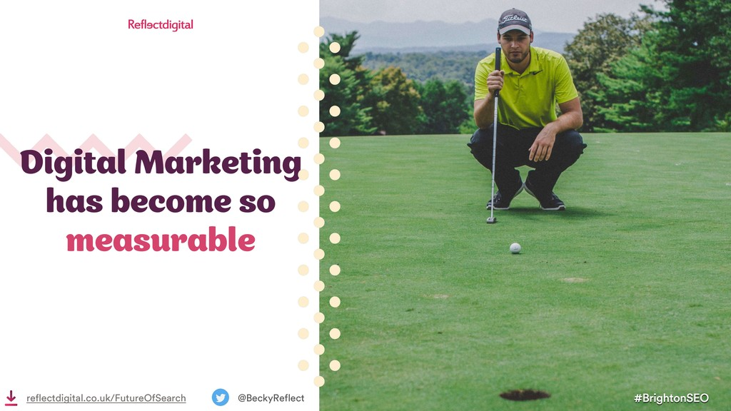 Digital Marketing has become so measurable #Bri...