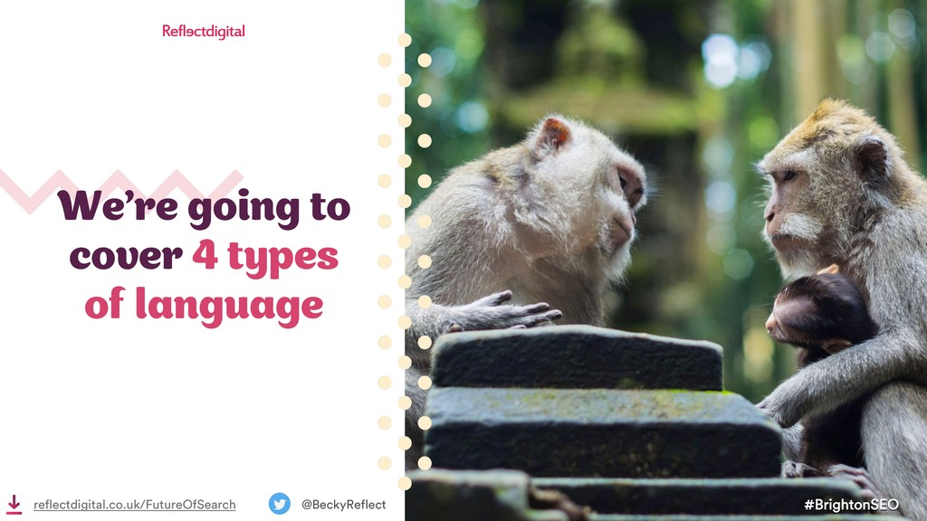 We're going to cover 4 types of language #Brigh...