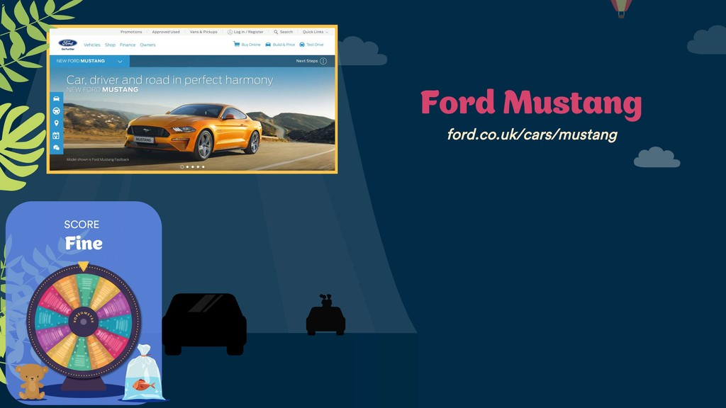 SCORE Fine Ford Mustang ford.co.uk/cars/mustang