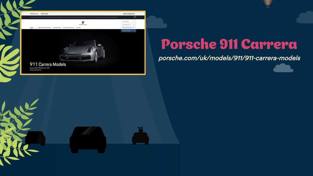 Porsche 911 Carrera porsche.com/uk/models/911/9...