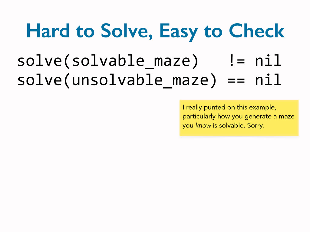 solve(solvable_maze)   != nil...