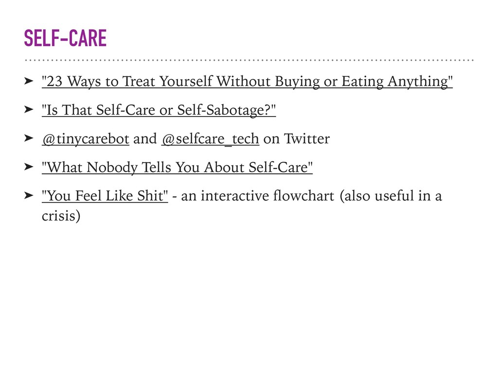 "SELF-CARE ➤ ""23 Ways to Treat Yourself Without ..."