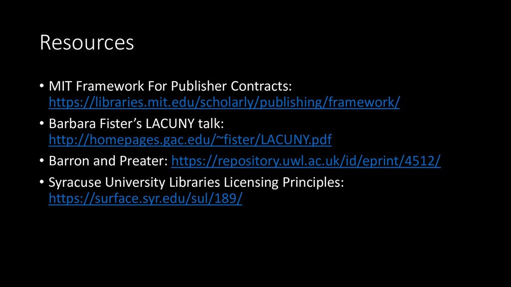 Resources • MIT Framework For Publisher Contrac...