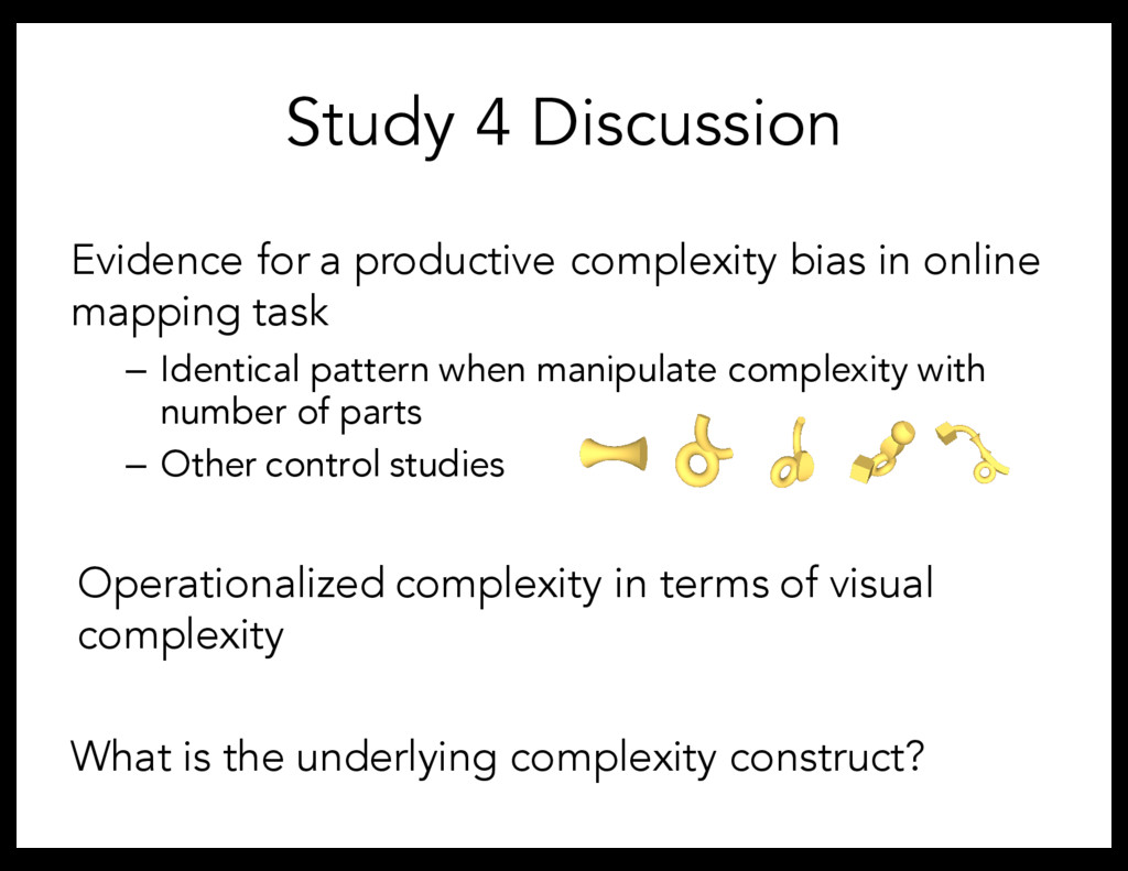 Evidence for a productive complexity bias in on...