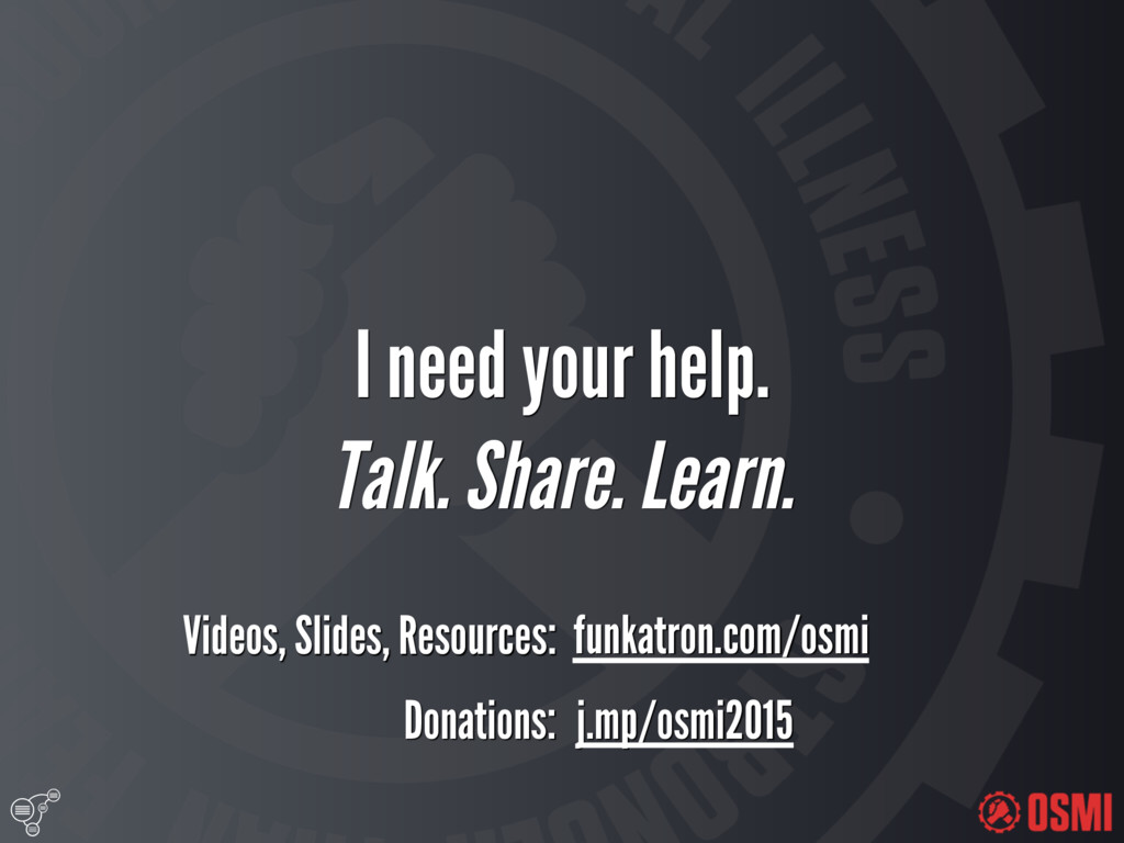 I need your help. Talk. Share. Learn. Donati...