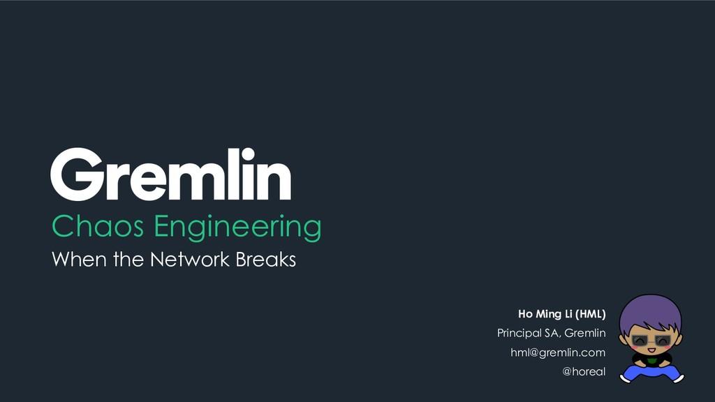 Chaos Engineering When the Network Breaks Ho Mi...