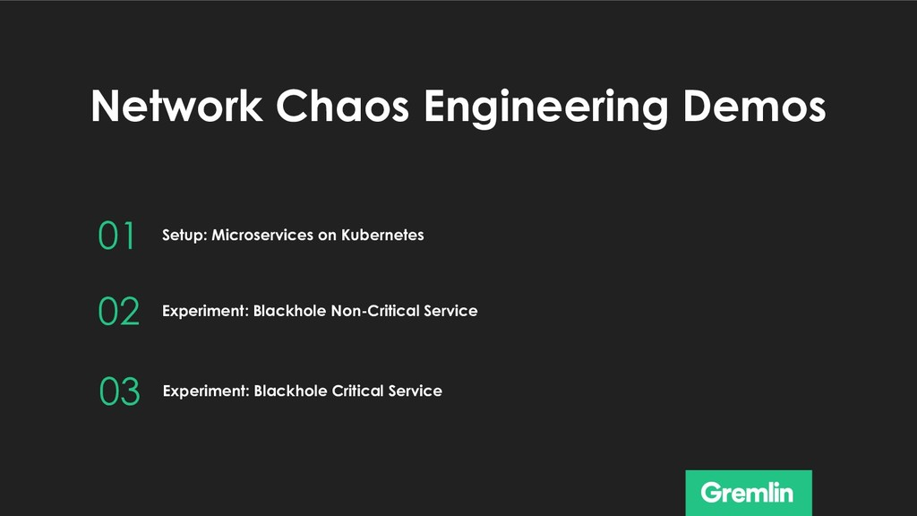 Network Chaos Engineering Demos 01 02 Setup: Mi...