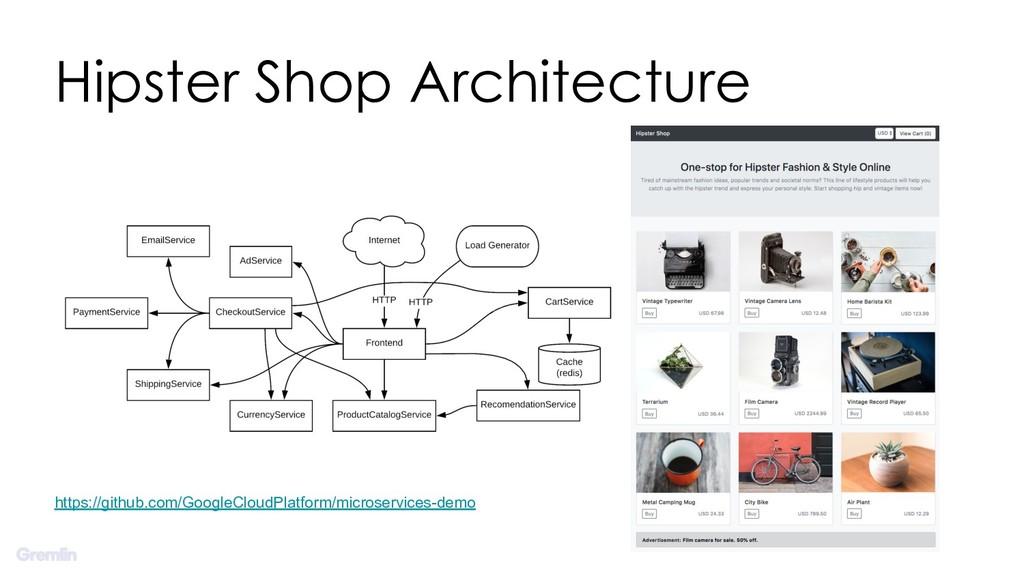 Hipster Shop Architecture https://github.com/Go...