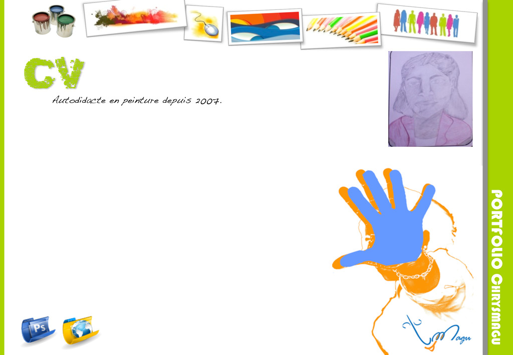 Autodidacte en peinture depuis 2007.! PORTFOLIO...