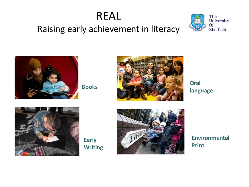 REAL Raising early achievement in literacy Book...