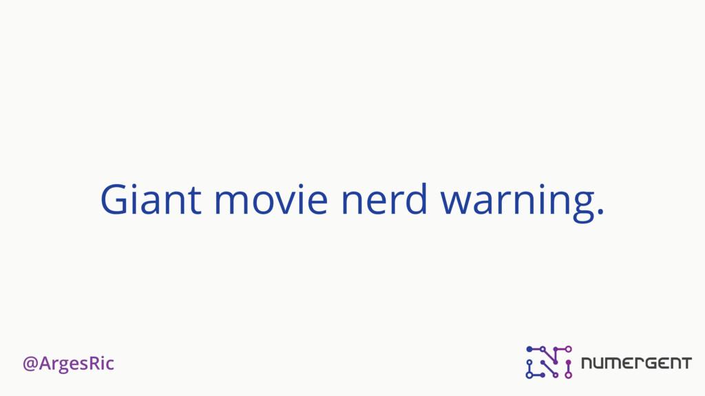 @ArgesRic Giant movie nerd warning.
