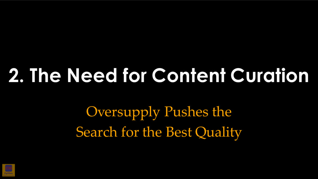 2. The Need for Content Curation Oversupply Pus...