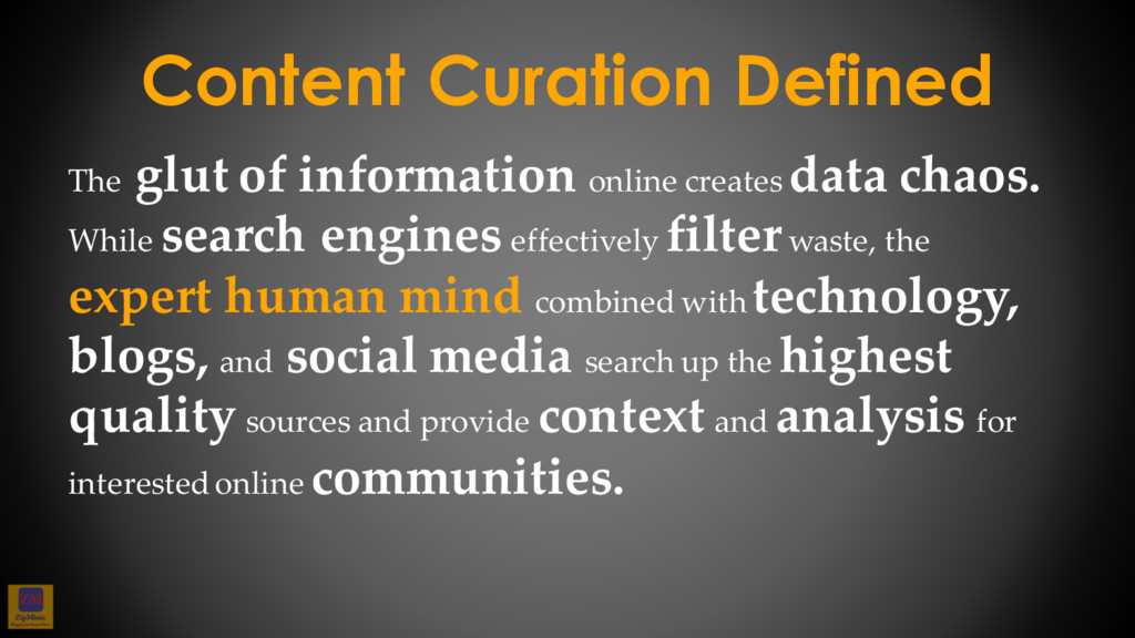 The glut of information online creates data cha...
