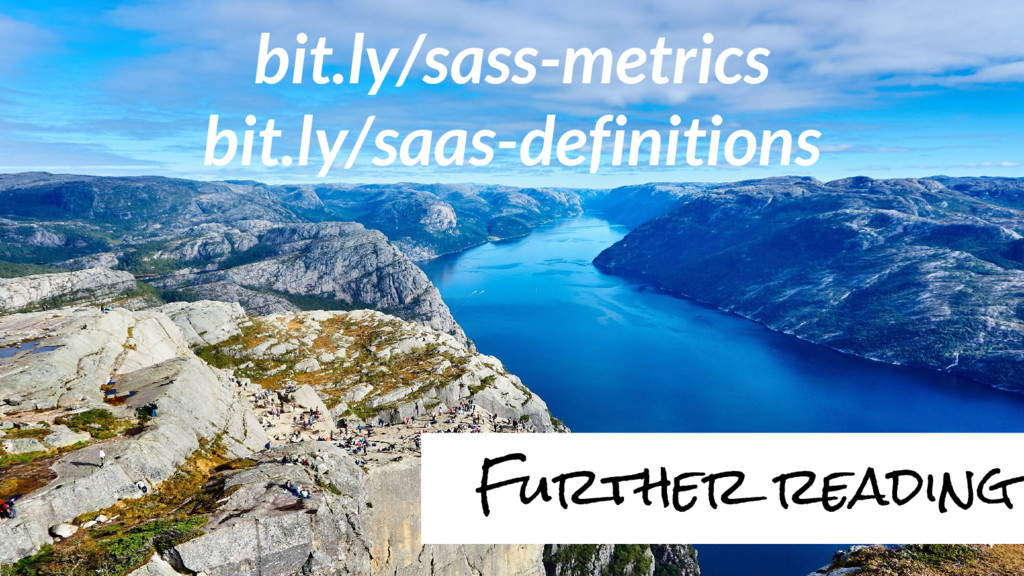 bit.ly/sass-metrics bit.ly/saas-definitions Fur...