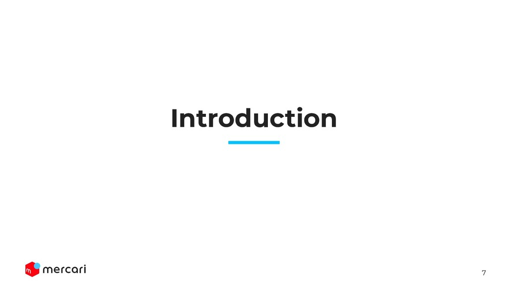 7 Introduction