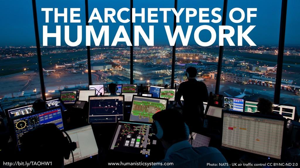 http://bit.ly/TAOHW1 HUMAN WORK THE ARCHETYPES ...