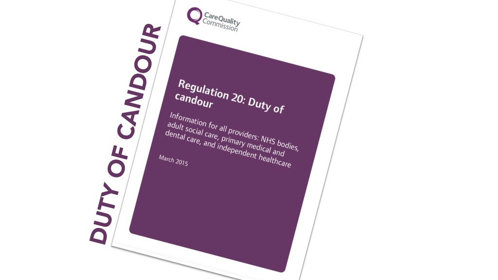 DUTY OF CANDOUR