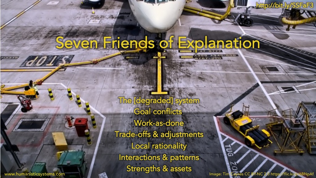 Seven Friends of Explanation The [degraded] sys...