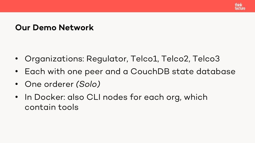 • Organizations: Regulator, Telco1, Telco2, Tel...