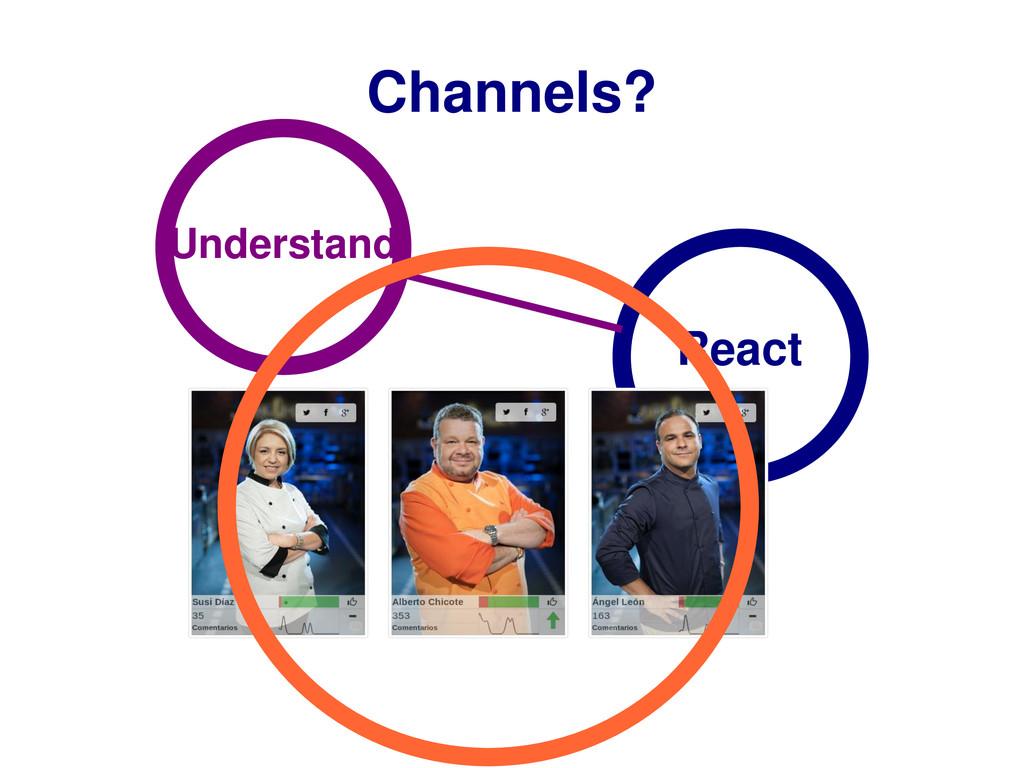 Channels? Understand React