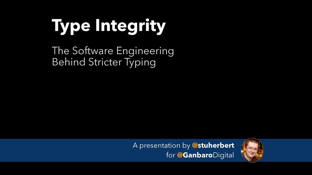 A presentation by @stuherbert for @GanbaroDigi...