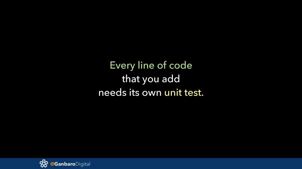 @GanbaroDigital Every line of code that you add...