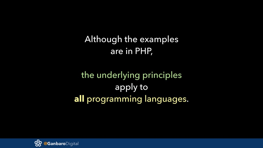@GanbaroDigital Although the examples are in PH...