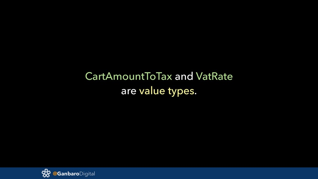 @GanbaroDigital CartAmountToTax and VatRate are...