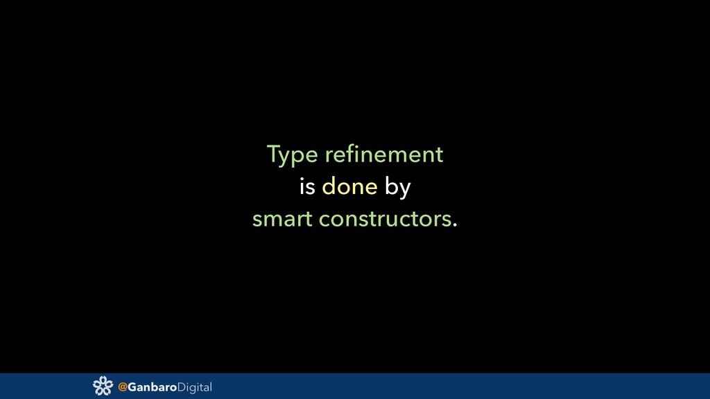 @GanbaroDigital Type refinement is done by smart...