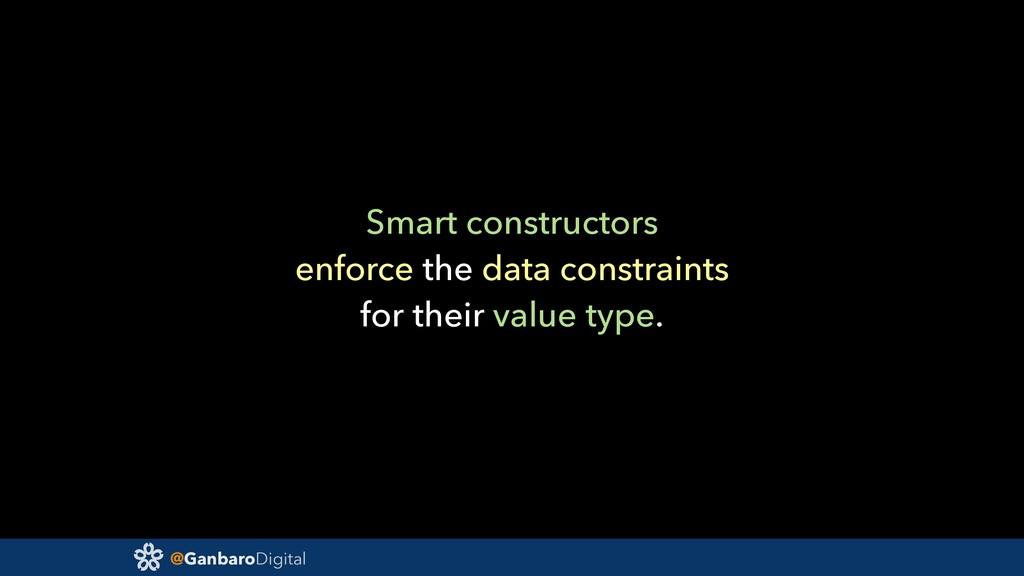 @GanbaroDigital Smart constructors enforce the ...