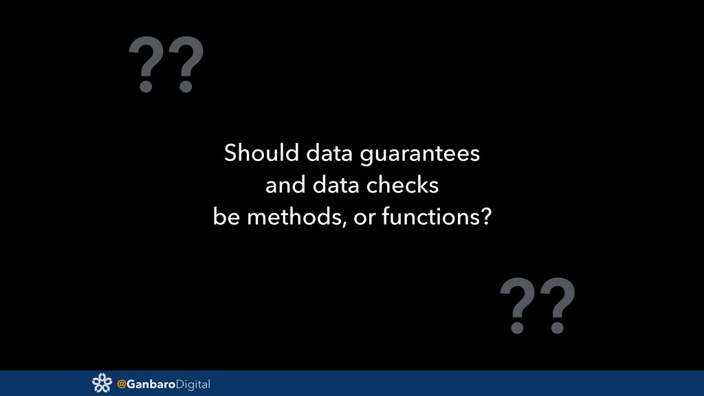 @GanbaroDigital ?? ?? Should data guarantees an...