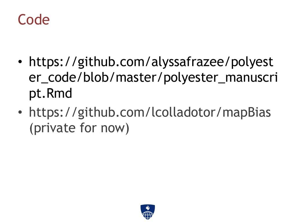 Code • https://github.com/alyssafrazee/polyest ...