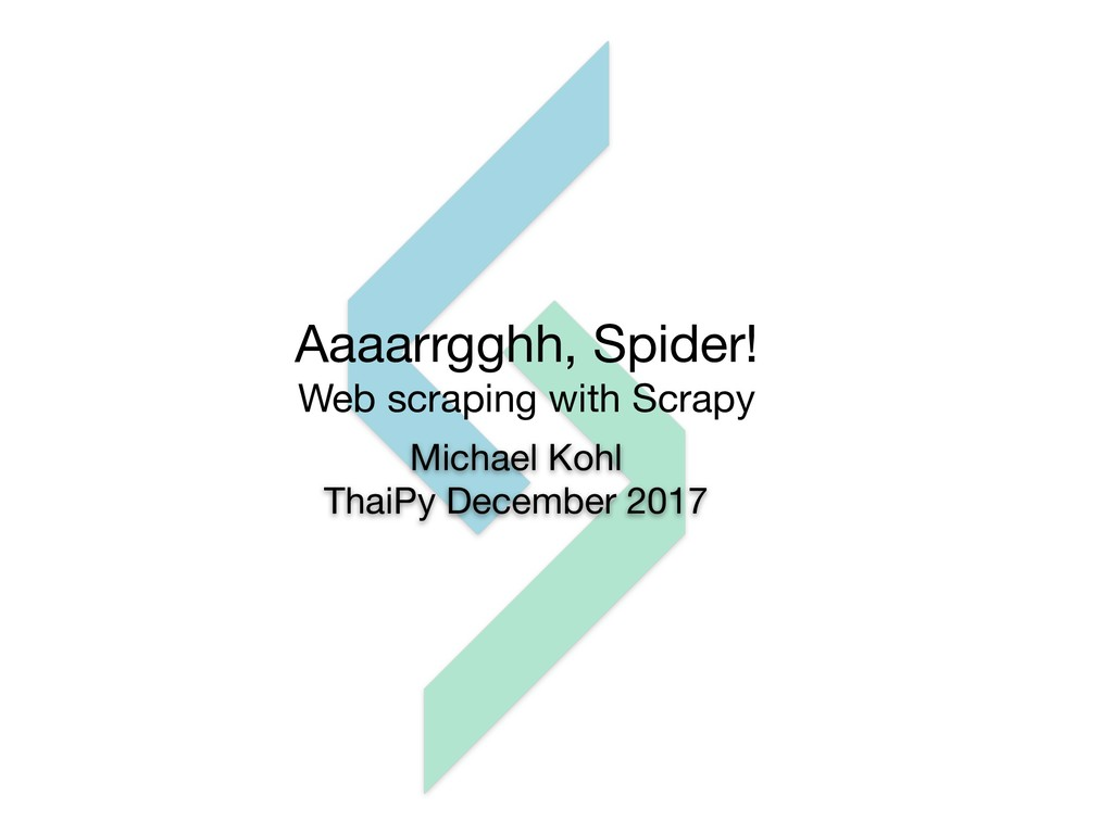 Aaaarrgghh, Spider!