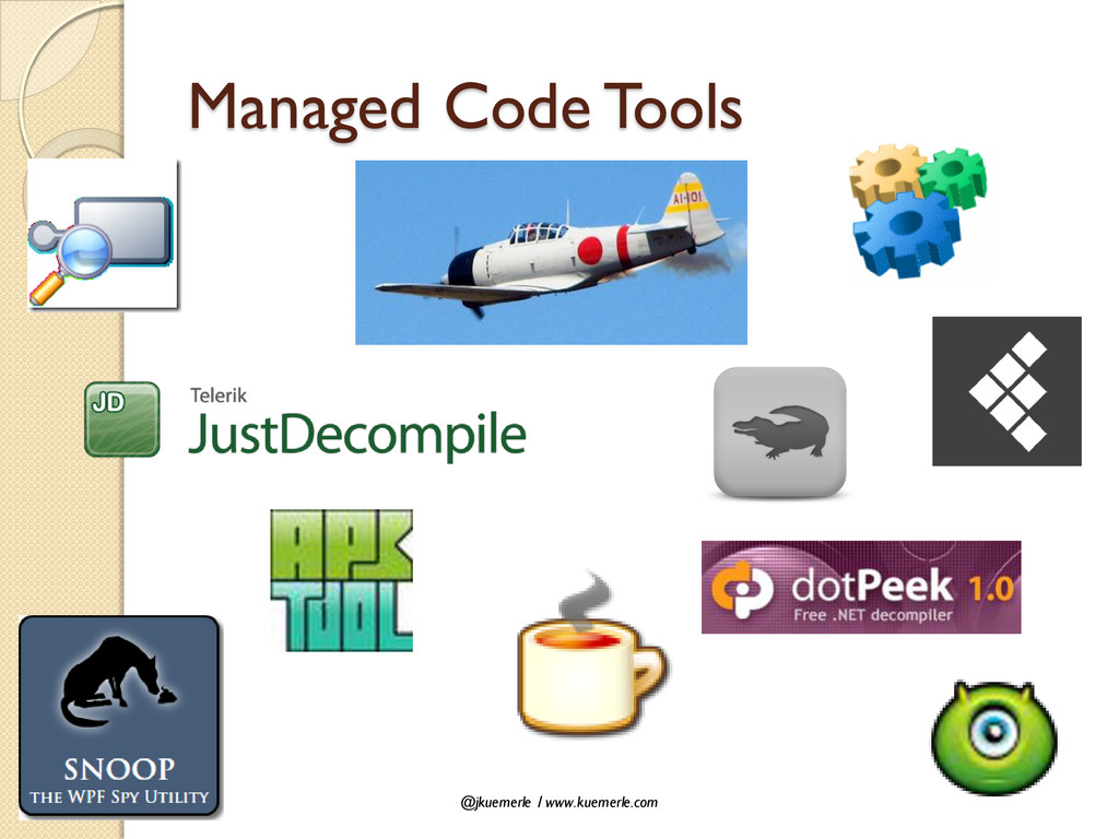 @jkuemerle / www.kuemerle.com Managed Code Tools