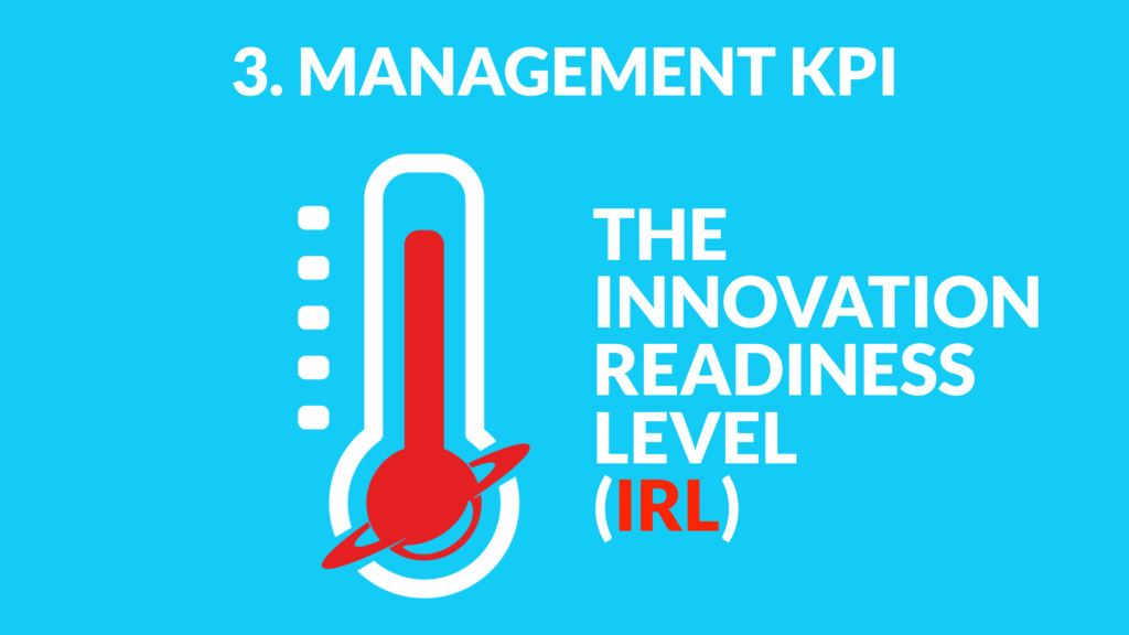 3. MANAGEMENT KPI THE INNOVATION READINESS LEVE...