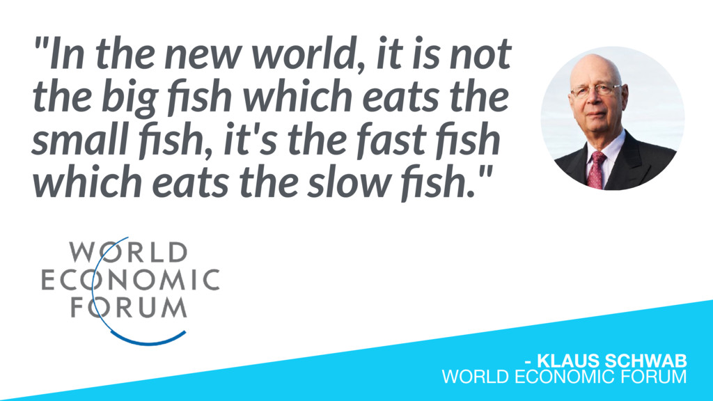 """In the new world, it is not