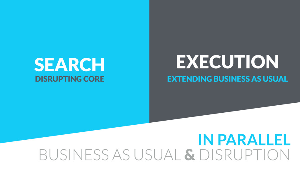 SEARCH EXECUTION IN PARALLEL BUSINESS AS USUAL ...