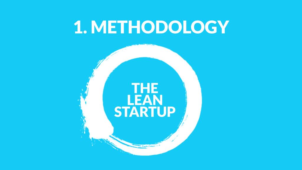 1. METHODOLOGY THE LEAN STARTUP