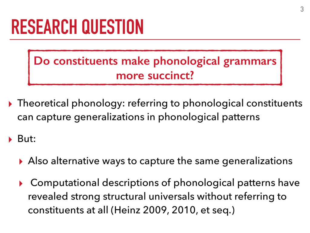 3 ▸ Theoretical phonology: referring to phonolo...