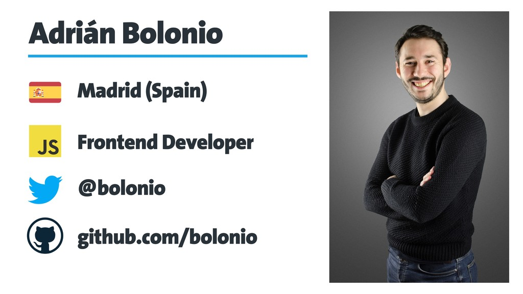 Adrián Bolonio Frontend Developer Madrid (Spain...
