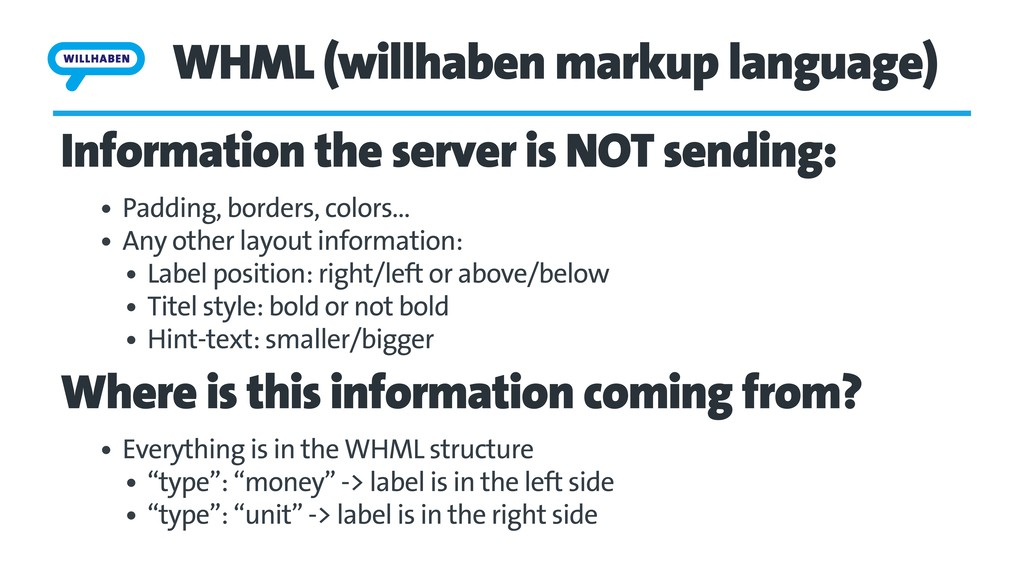 WHML (willhaben markup language) Information th...